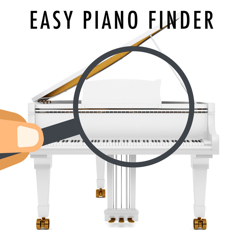 Easy Piano Finder Service