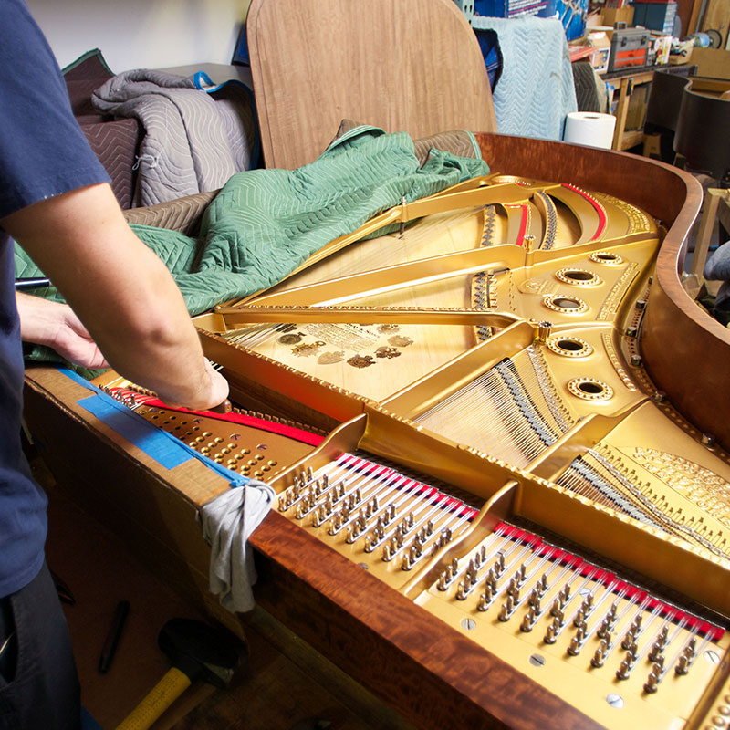 Piano Restoration Rebuilding Services